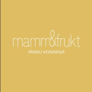 Mamm&Frukt põhilogo