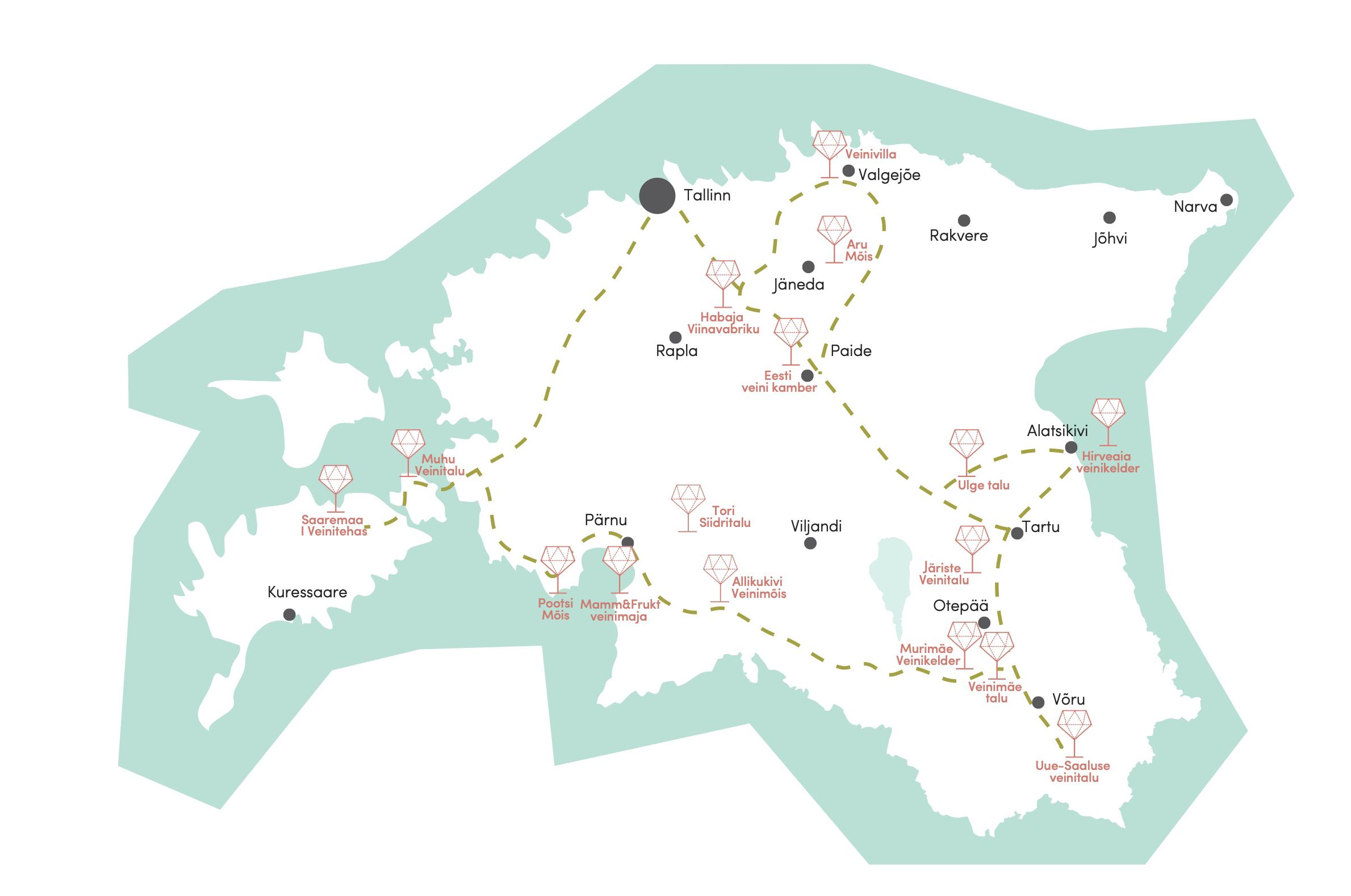 eesti veinitee estonian winetrail kaart_2
